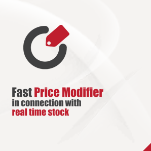 Fast Price Modifier in connection with real time stock