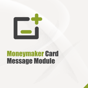 Moneymaker Card Message Module