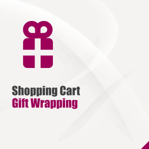 Shopping Cart Gift Wrapping
