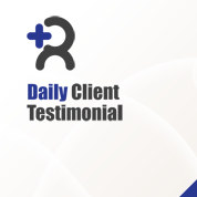 Daily Client Testimonial