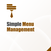 Simple Menu Management